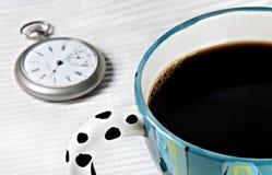 中断咖啡时间 皇族释放例证