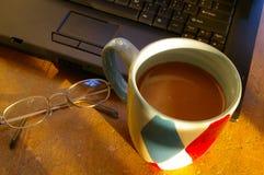 中断咖啡 免版税库存图片