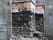 中断墙壁 免版税图库摄影