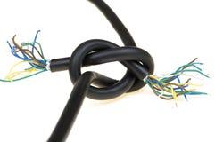 中断电缆 免版税库存照片