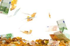 中断的欧元 免版税库存照片