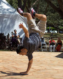 中断舞蹈演员 免版税库存照片