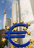 中欧的银行 免版税图库摄影