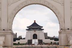 中正纪念堂台湾 库存照片