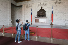 中正纪念堂在台北,台湾 库存照片