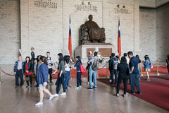 中正纪念堂在台北,台湾 免版税库存照片
