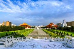 中正纪念堂在台北 免版税图库摄影