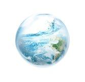 从中没有El的Ni拯救地球 免版税库存照片