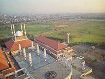 中爪哇省伟大的清真寺  免版税库存图片