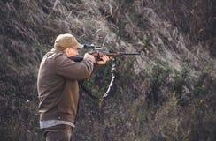 击中目标 准确射击 免版税库存图片