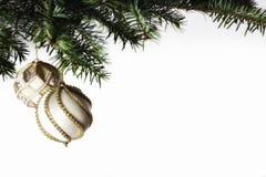中看不中用的物品圣诞节构成 免版税库存照片