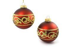 中看不中用的物品圣诞节红色二 库存照片