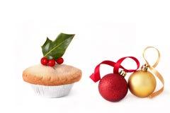 中看不中用的物品圣诞节肉馅饼 免版税库存图片