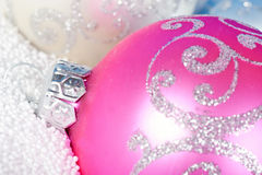 中看不中用的物品圣诞节雪招标 免版税图库摄影