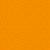 中立几何无缝的橙色样式 免版税库存照片