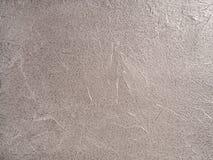 中立背景-灰色米黄织地不很细银色金属decorat 库存照片