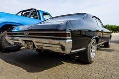 中等大小汽车薛佛列Chevelle SS396 Hardtop Coupe, 1966年 免版税库存图片