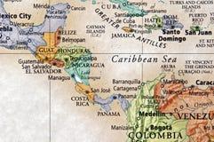 中美洲 免版税库存照片