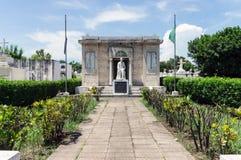 中美洲的最旧的公墓-格拉纳达,尼加拉瓜 库存照片