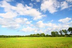 中西部大草原风景 免版税图库摄影