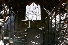 中西部` Grandaddy的谷仓他们所有` 库存图片