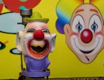 中途小丑 免版税库存照片