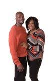 中部年迈的夫妇身分关闭 免版税图库摄影