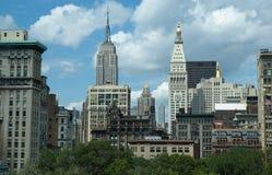 中间地区纽约 免版税库存图片