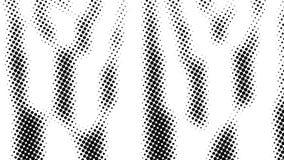 中间影调许多小点,计算机生成的抽象背景,3D回报与错觉作用的背景 皇族释放例证