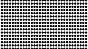 中间影调许多小点,计算机生成的抽象背景, 3D回报 股票视频