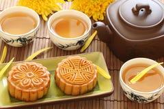 中间秋天中国的节日 库存照片