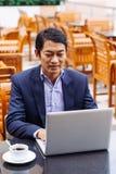 中年亚裔经理 免版税库存图片