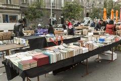 中间人售书 免版税库存照片