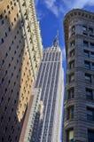 中间地区和帝国大厦 免版税库存照片