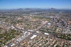 中间地区菲尼斯,亚利桑那 免版税图库摄影