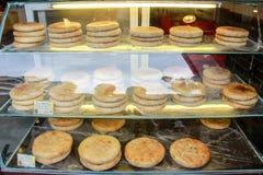 中间秋天节日的月饼 库存图片