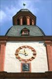 中间莱茵河博物馆古老塔在科布伦茨 图库摄影
