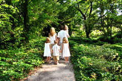 丰富的家庭生活 免版税库存图片