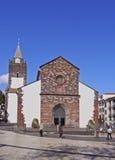 丰沙尔大教堂 库存照片