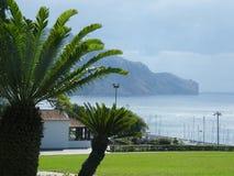 丰沙尔的庭院,马德拉岛海岛,葡萄牙,在欧洲南部 库存照片