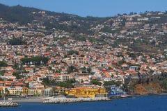 丰沙尔马德拉岛葡萄牙 库存照片