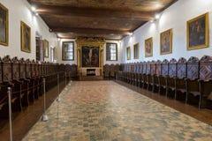 丰沙尔,马德拉岛,葡萄牙- 2017年9月9日:圣克拉拉 免版税库存照片
