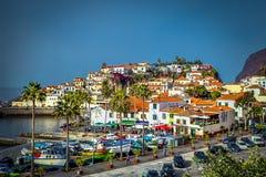 丰沙尔,马德拉岛/葡萄牙- 2017年2月:丰沙尔 图库摄影