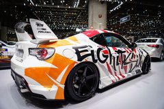丰田GT86,汽车展示会吉恩威2015年 免版税库存图片