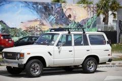 1983年丰田Landcruiser 免版税库存图片