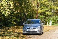 丰田Prius 2010年 免版税库存图片