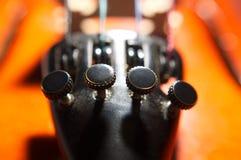 串起小提琴 库存图片