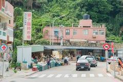 临时界首Shizi市场 库存照片