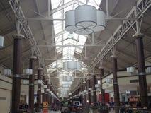 丹伯里公平的购物中心在康涅狄格,美国 免版税库存图片