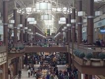 丹伯里公平的购物中心在康涅狄格,美国 库存图片